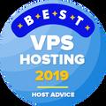 Присъдена на компании в листата на водещите 10, в категорията за най-добри VPS хостинг компании.