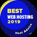 Присъдена на компании в листата на водещите 10, в категорията за най-добри уеб хостинг компании.